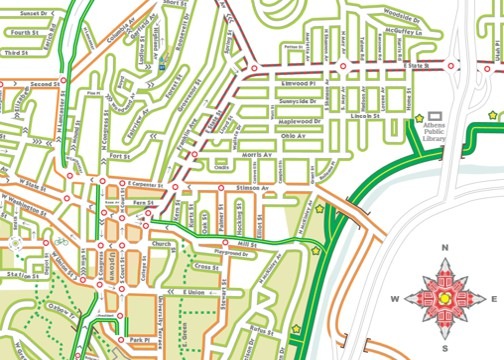Bike Commuter Map