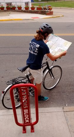 Athens Bicycle Map