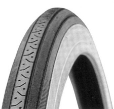 26 x 1 3/8 Cheng Shin C638 Raised Center Tire