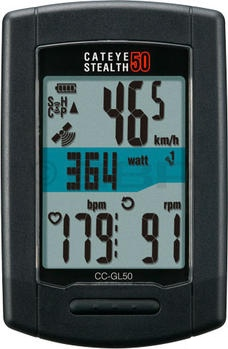 CatEye GPS Stealth 50 Cycling Computer: