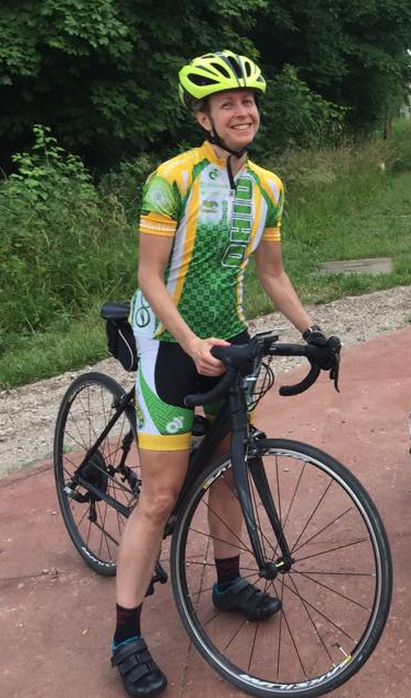 CLOSEOUT2017 Team Athens, Ohio / Alumni Bicycle Women's Jersey