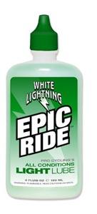 4 oz White Lightning Epic Ride Lube