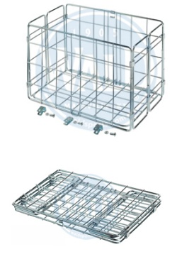 Wald Rear Folding Basket